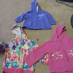 Other - 3 Cute baby girl sweaters
